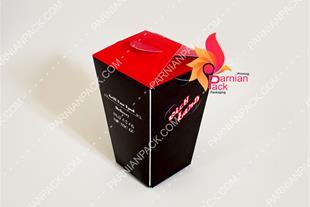 تولید اختصاصی انواع جعبه فست فود رستوران کافی شاپ