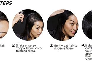 پودر پرپشت کننده و حجم دهنده مو سر تاپیک