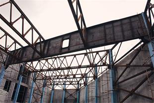 ساخت انواع سازه های فلزی-عرشه فولادی-سوله