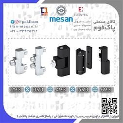 یراق آلات تابلو برق صنعتی ، قفل و لولا تابلو برق - 1
