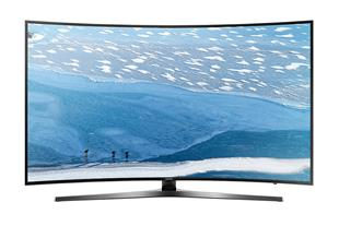 تلوزیون صفحه منحنی 49 اینچ سامسونگ