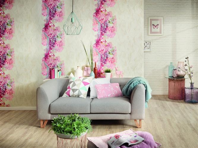 قیمت خرید کاغذ دیواری ایرانی ، کاغذ دیواری سه بعدی - 1