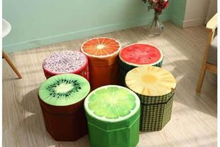 صندلی جمع شونده سه بعدی طرح میوه