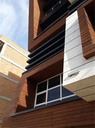 نمای ساختمان مدرن و نمای بیرونی ساختمان مسکونی - 1