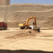 خاک برداری و گودبرداری - اجاره بیل مکانیکی تهران