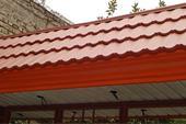 ساخت و اجرای سقف شیروانی ویلا