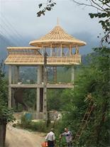 پوشش سقف سوله ، اجرای سقف شیبدار آردواز