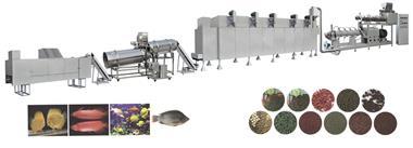 خطوط تولید خوراک آبزیان (غذای ماهی) ظرفیت 150kg تا - 1