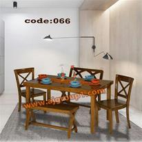 تولید و فروش میز ناهارخوری چوبی