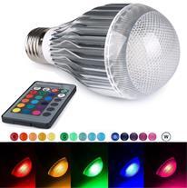 لامپ ال ای دی رنگی ریموت دار