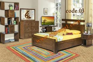 تولیدی سرویس خواب چوبی