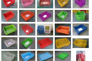 تولیدات سبد وجعبه های پلاستیکی