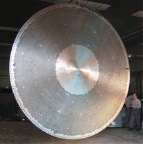 تراشکاری قطعات تا قطر 6000 میلیمتر و طول 16 متر