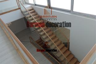 دکوراسیون - نرده چوبی - نرده فرفورژه - نرده شیشه