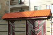 پوشش سردرب ورودی حیاط آپارتمان و ویلا