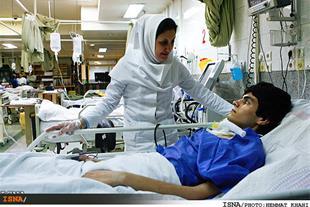 همراه تخصصی بیمار در بیمارستان