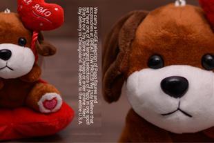 عروسک سگ PAPO + ارسال به کل کشور