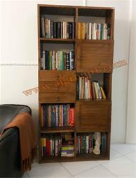فروش کتابخانه ی چوبی - 1