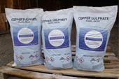 فروش سولفات مس 5 آبه پودری با محتوای مس 25 درصد