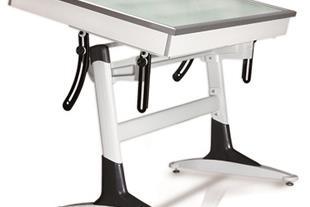 میز نور مهندسی با پایه قایقی