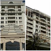اجرای رنگ نمای ساختمان و کنیتکس پوشش سنگی نما