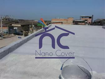 عایق الاستیکی نانو روی پشتبام و سقف - 1