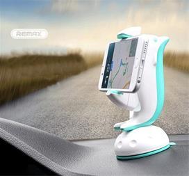 هولدر موبایل دلفینی داشبورد اتومبیل REMAX - 1