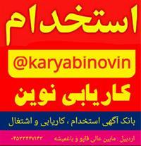 کاریابی نوین (بامجوز رسمی ازوزارت تعاون،کارورفاه)