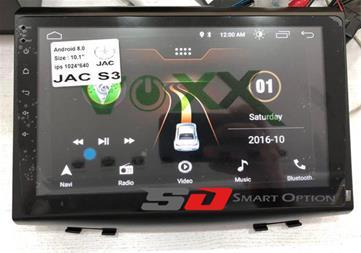 مانیتور فابریک اندروید Voxx جک اس 3 - JAC S3 - 1