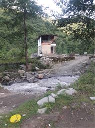 اجاره کلبه جنگلی لب رودخانه در سوادکوه - لفور - 1