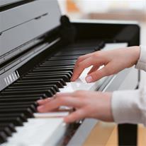 آموزش ساز پیانو با تاج بخش