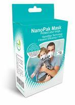 ماسک نانو پاک 99درصد ،ضد گردو غبار ،ضد بوی دهان