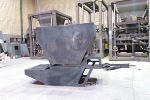تنها دستگاه تولید جدول بتنی با متراژ بالا