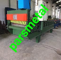 ساخت و فروش دستگاه کرکره زن ورق رنگی گالوانیزه - 1