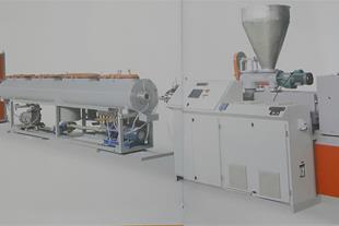 خط تولید لوله پلی پروپیلن ظرفیت 500 تا800