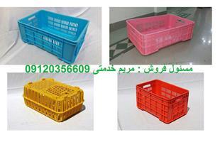 فروش سبد و جعبه پلاستیکی - سبد حمل مرغ زنده