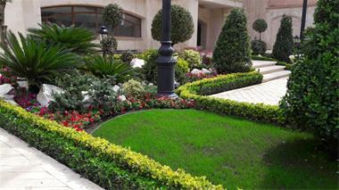 طراحی فضای سبز - اجرای فضای سبز - محوطه سازی - 1