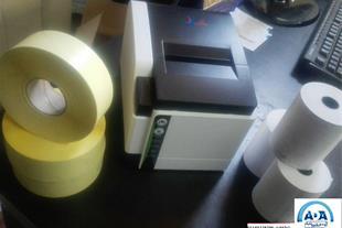 فروش انواع کاغذ فیش پرینتر و لیبل پرینتر