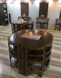 میز و صندلی چوبی رستوران - 1