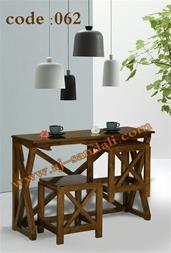 میز و صندلی چوبی کافی شاپ_فروش میزوصندلی کافی شاپ - 1