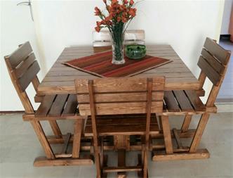 میز ناهارخوری چوبی چهار نفره _ فروش میز ناهار خوری - 1