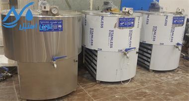 لبنیاتی شیرسردکن  -نوین استیل - 1