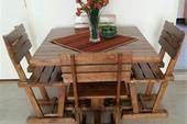 میز ناهارخوری چوبی چهار نفره _ فروش میز ناهار خوری
