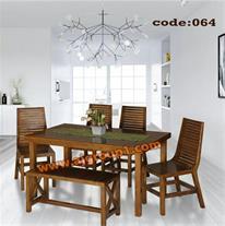جدیدترین میز ناهار خوری چوبی