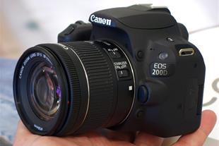 فروش دوربین حرفه ای 200D