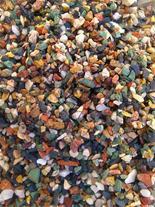 فروش انواع شن ، سنگ رودخانه قلوه ای