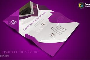 طراحی بروشور شرکت