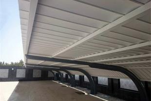 ساخت و نصب انواع حفاظ و سایبان پارکینگ
