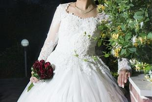 لباس عروس و لباس عقد در حد اک