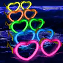 فروش عینک بلک لایت Glow فریم قلب